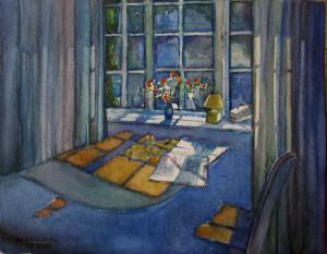 014-2012- Habitacion azul